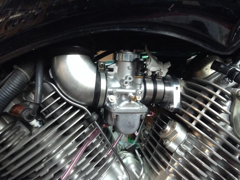 Yamaha Virago 750/920 Mikuni VM34 34mm Carburetor Conversion Kit