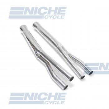 Honda CB500/CB550 K Performance Exhaust Motorcycle Mufflers Flare Tip Chrome  001-0611