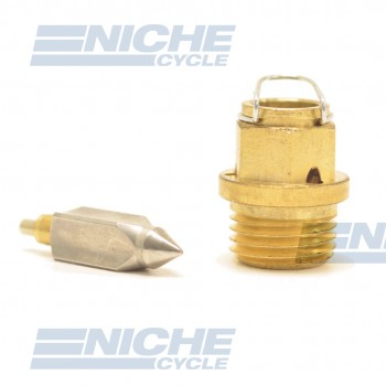 Mikuni VM34/39 - Metal Tip Needle & Seat Assembly VM34/39