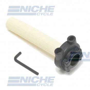 Honda Style Push/Pull Throttle Assembly - Black 44-97770
