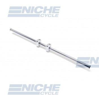"Handlebar - 1"" Broomstick Chrome-Dimp 07-12568"