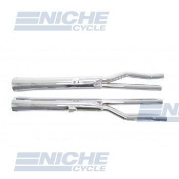 Honda CB750K 69-76 Motorcycle Mufflers Flare Tip Chrome  001-1311