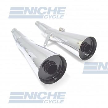 Honda V65 MagnaPerformance Exhaust Motorcycle Mufflers Megaphone Chrome  001-2313