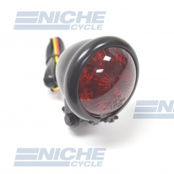 Bates Style Taillight Black 62-21520