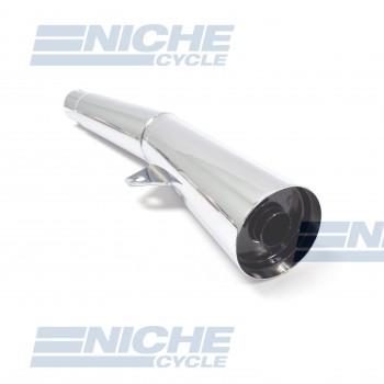 Honda CB750F 77-78 Performance Exhaust Motorcycle Muffler Megaphone Chrome  001-1113