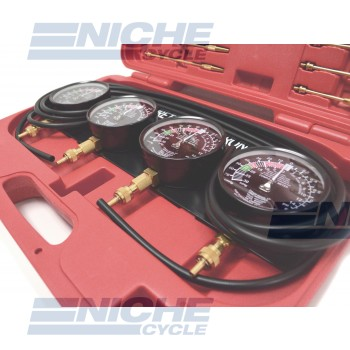 Carb Synchronizer Deluxe - 4 Gauge NCS68594R
