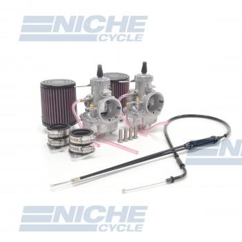 Yamaha XS650 Mikuni VM34 34mm Carburetor Conversion Kit NCS235