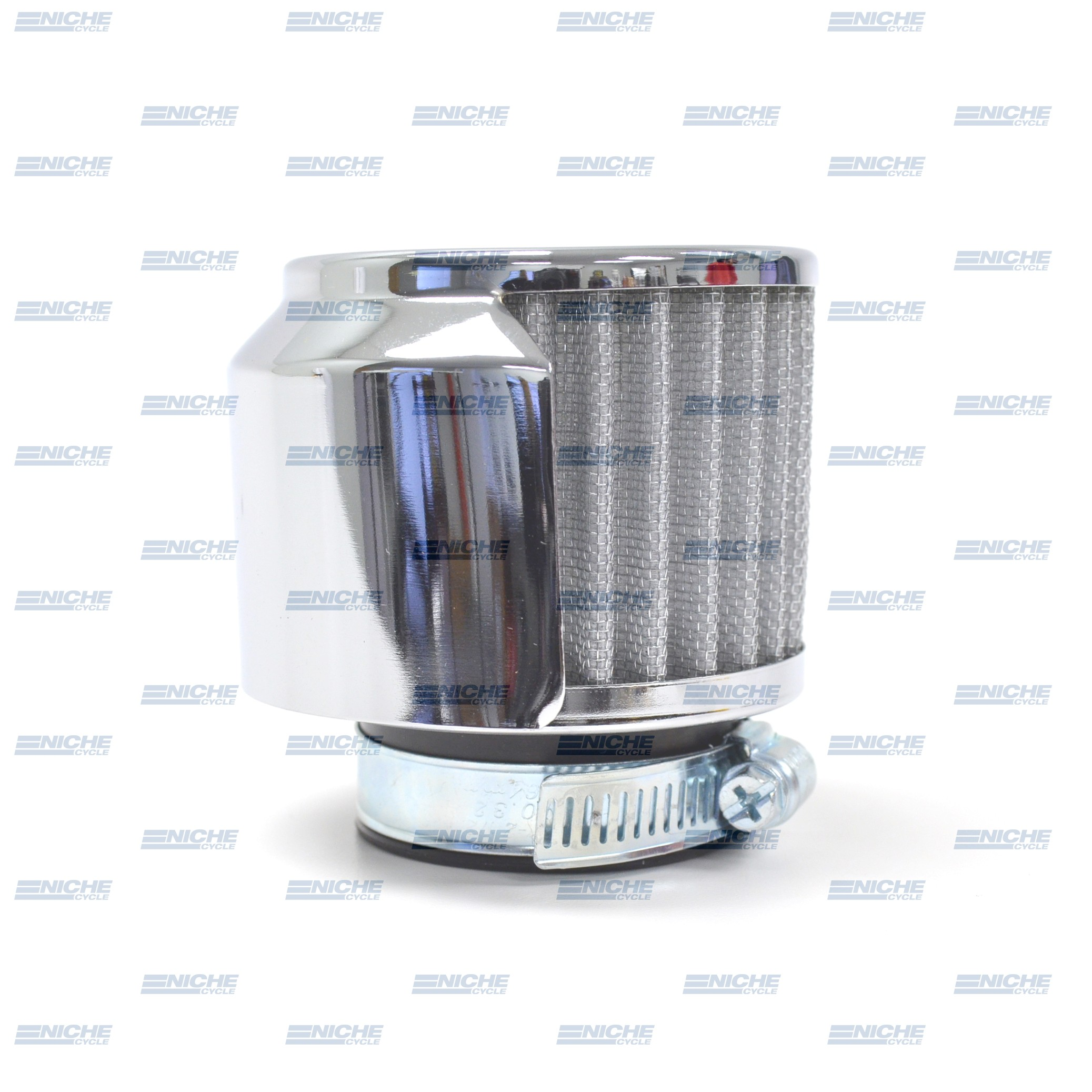 Air filter Pod w/Chrome Half Cover - 45mm 12-55780