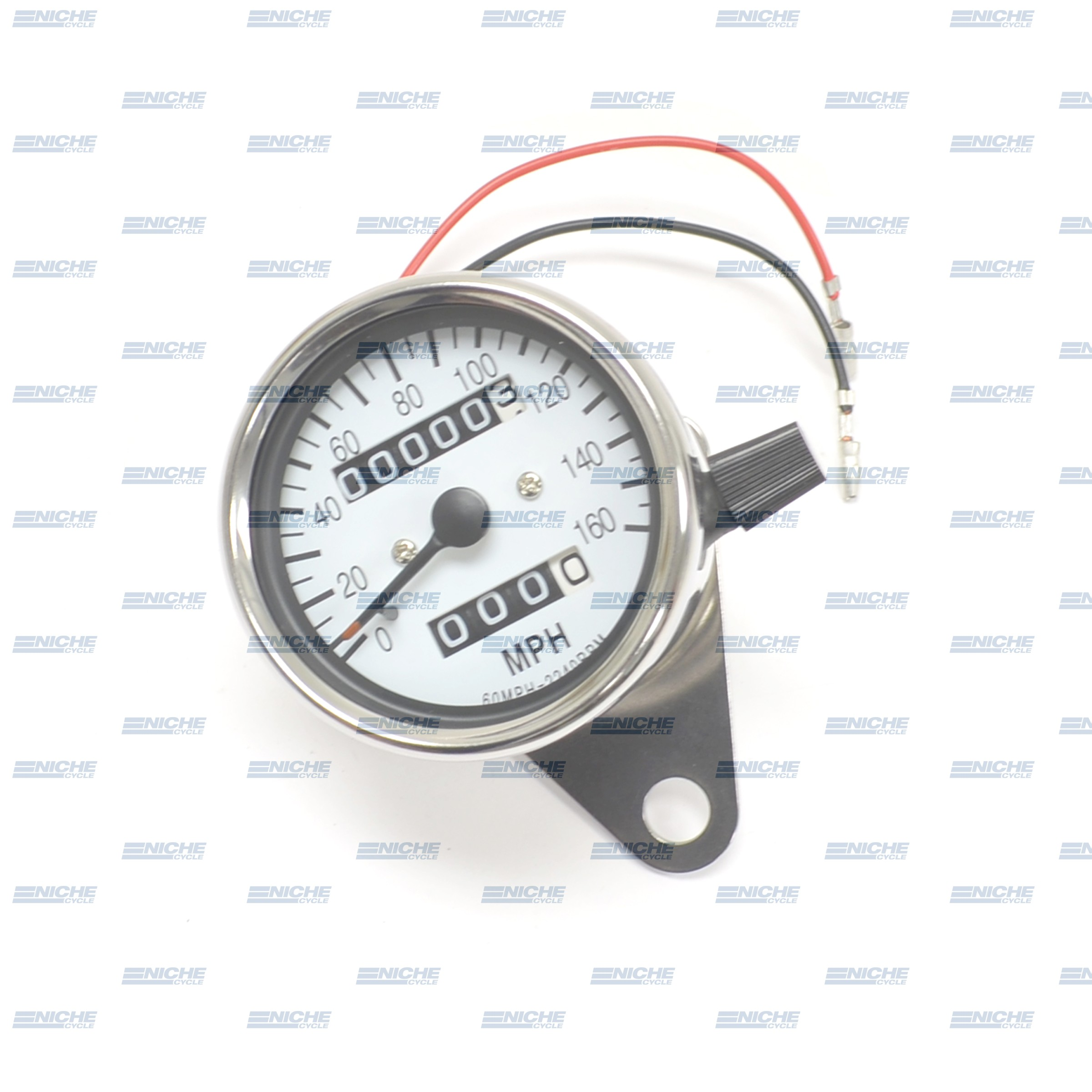 Mini Speedometer Gauge 160 MPH - 2.1:1 Ratio 58-43664A
