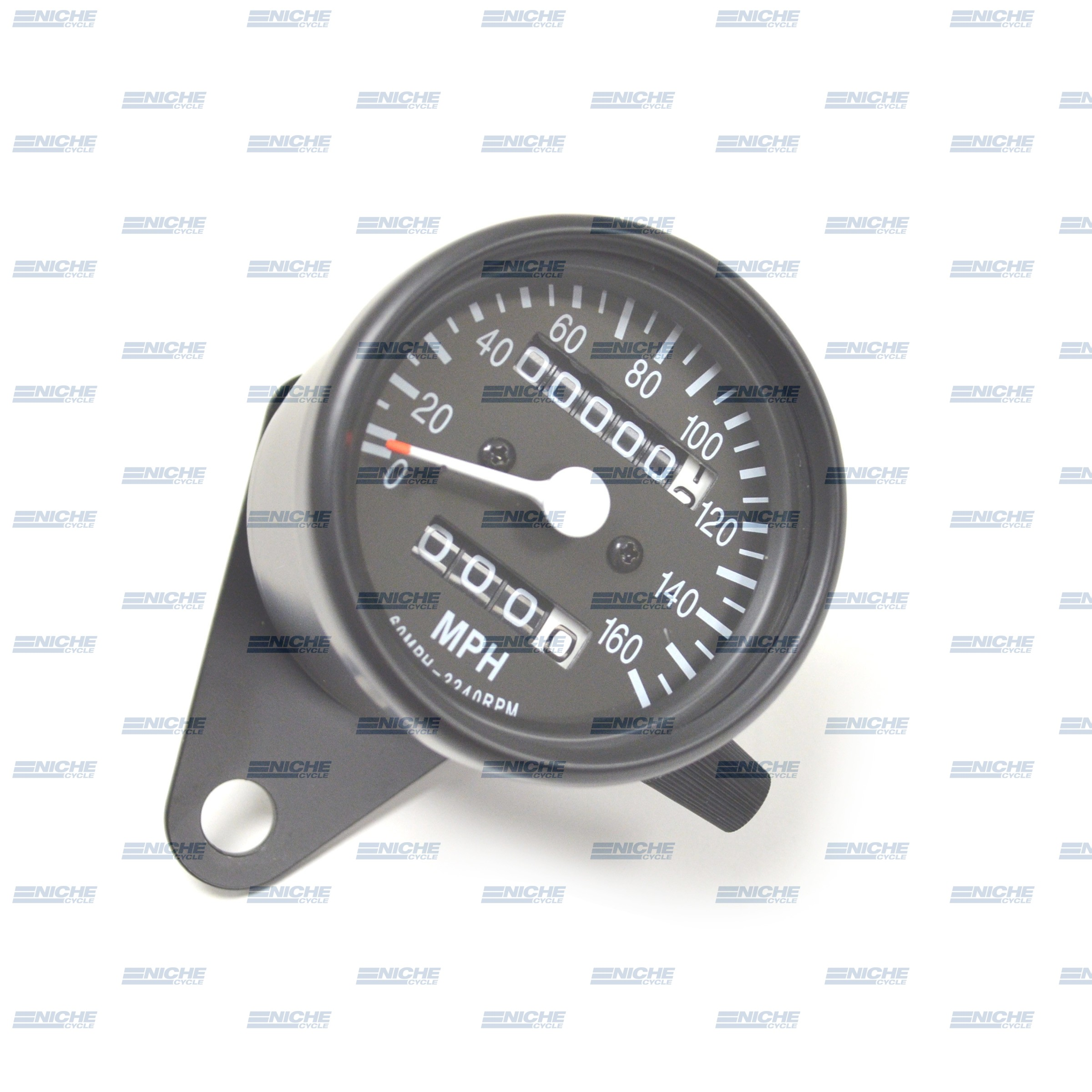 Mini Speedometer Gauge 160 MPH - 2.1:1 Ratio 58-43664B