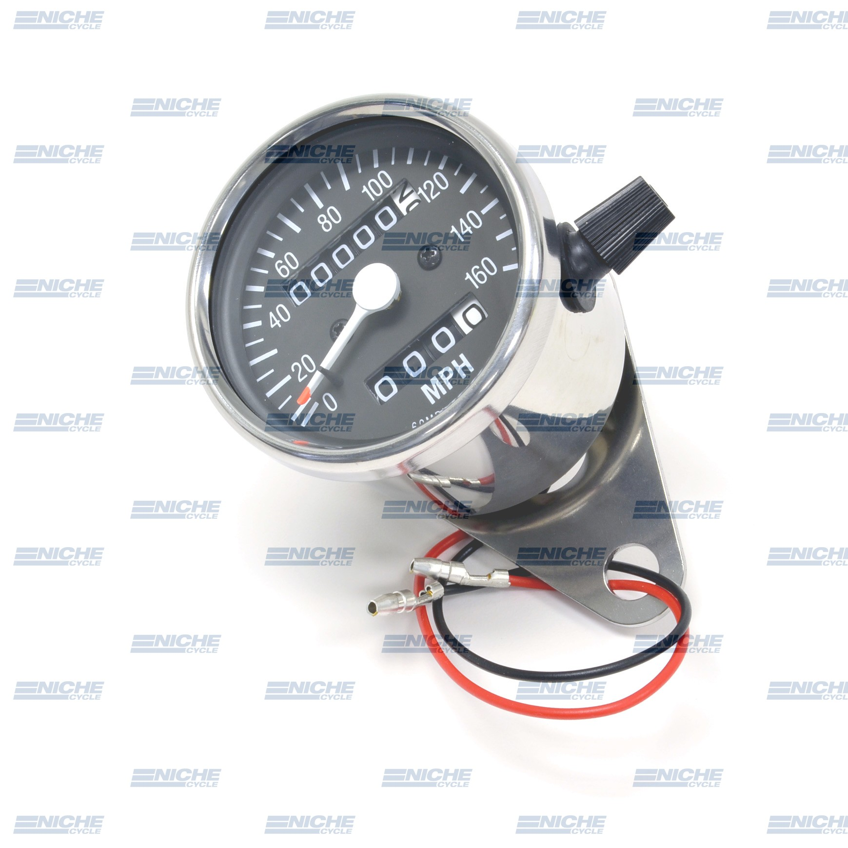 Mini Speedometer Gauge 160 MPH - 2.1:1 Ratio 58-43664