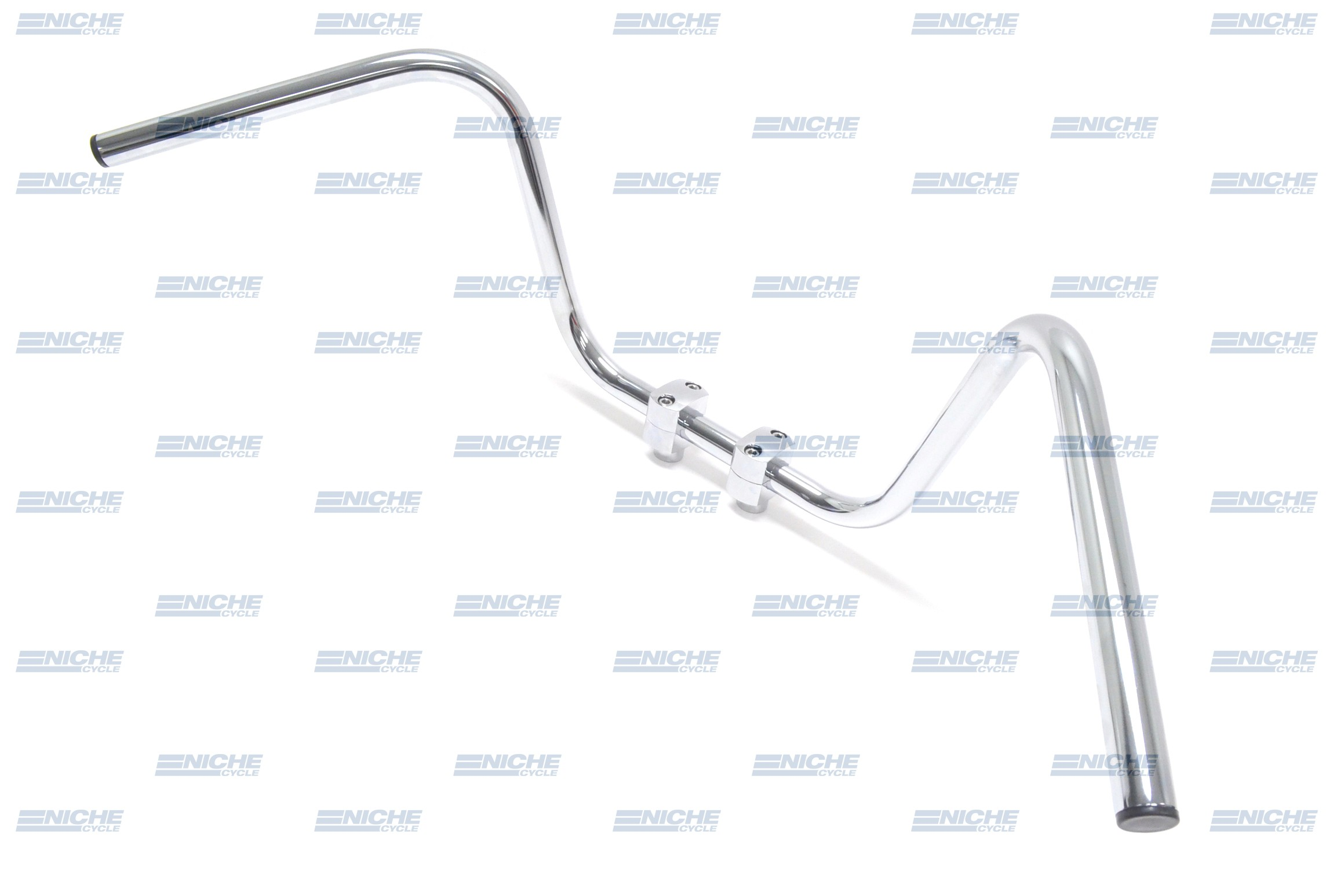 "Handlebar - 1"" High Buckhorn Chrome 07-12512"