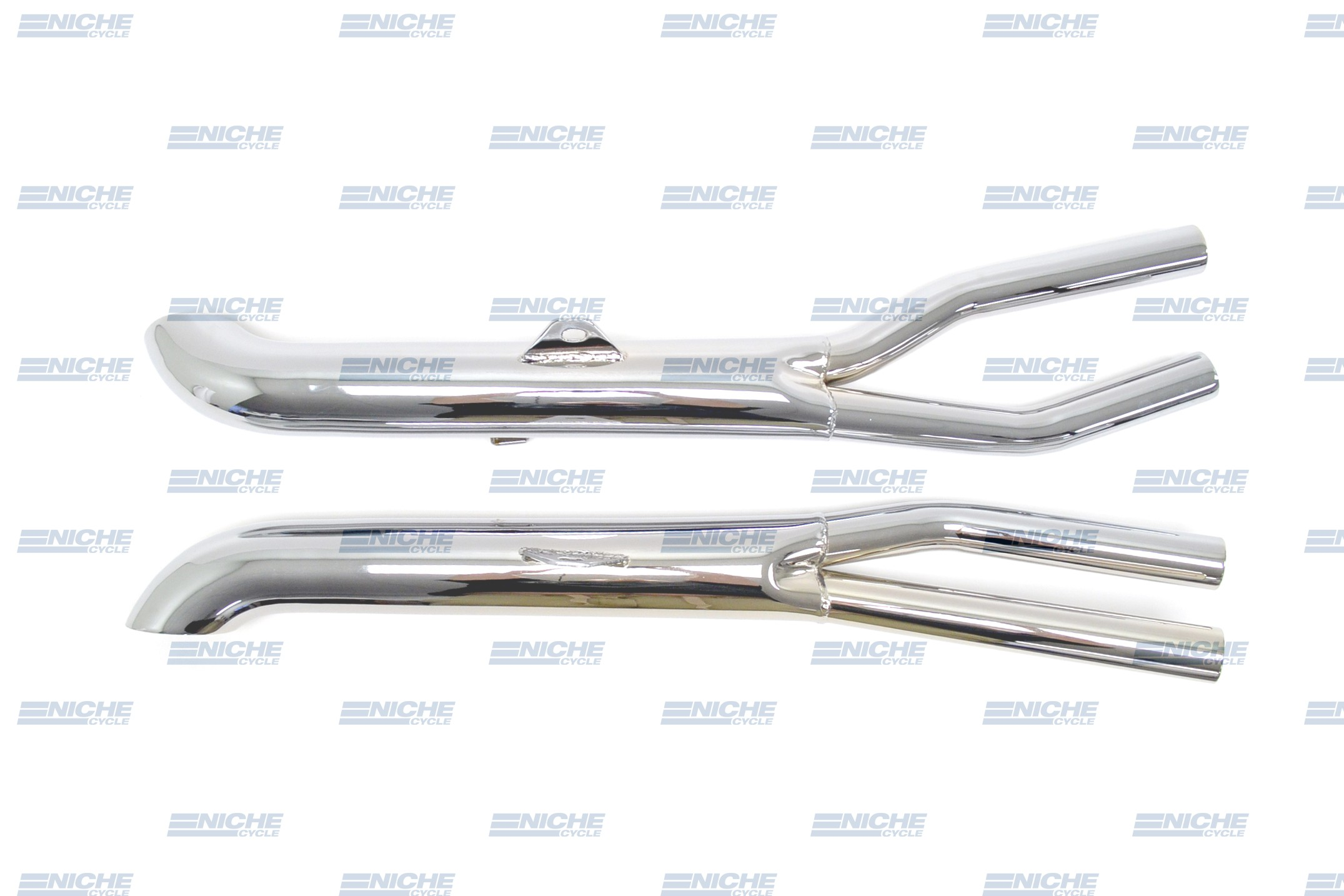 Honda CB900 Custom Slip On Motorcycle Mufflers Turnout Chrome  001-3110