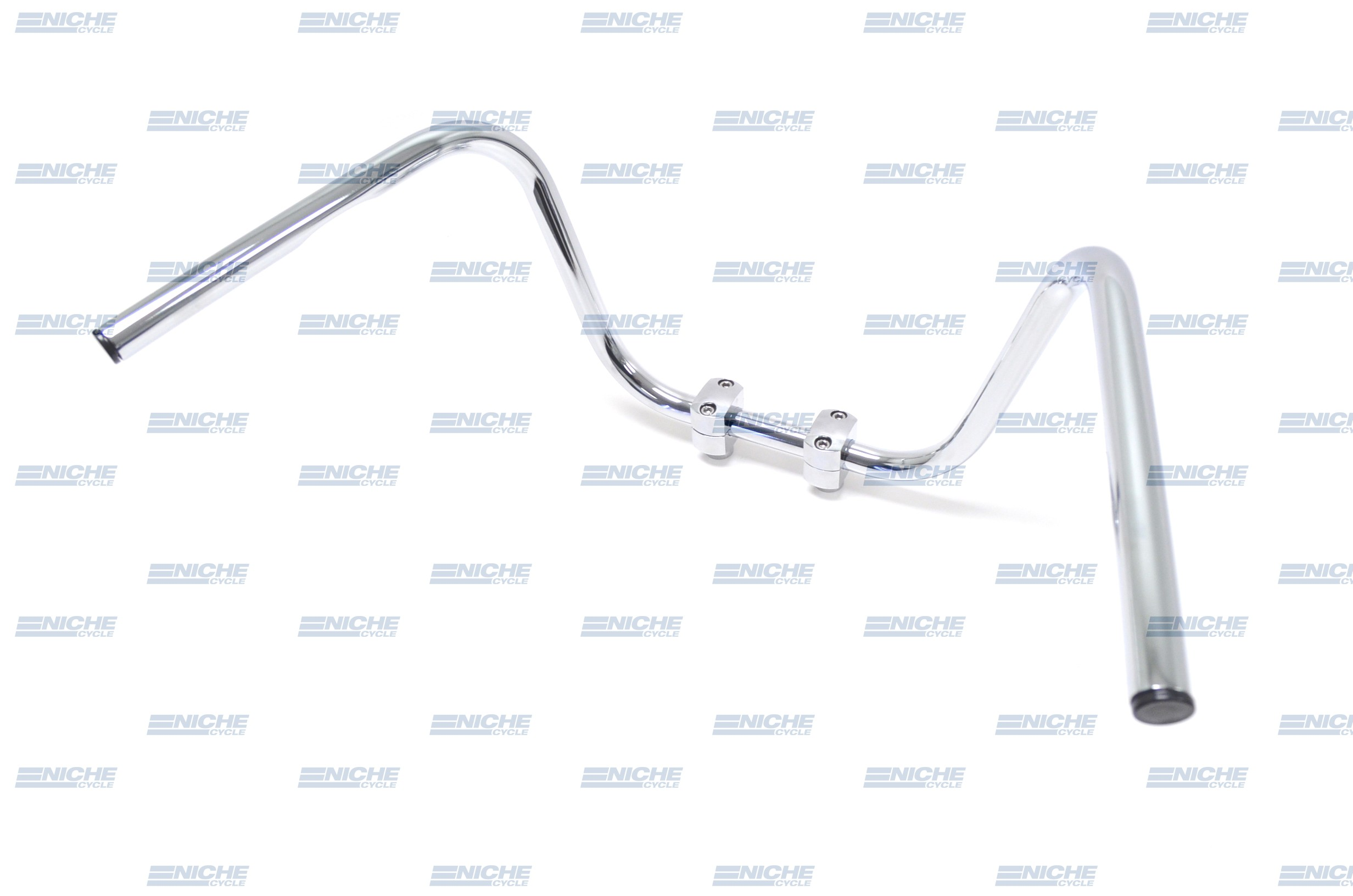 "Handlebar - 1"" High Chopper Chrome-Dimp 07-12524"