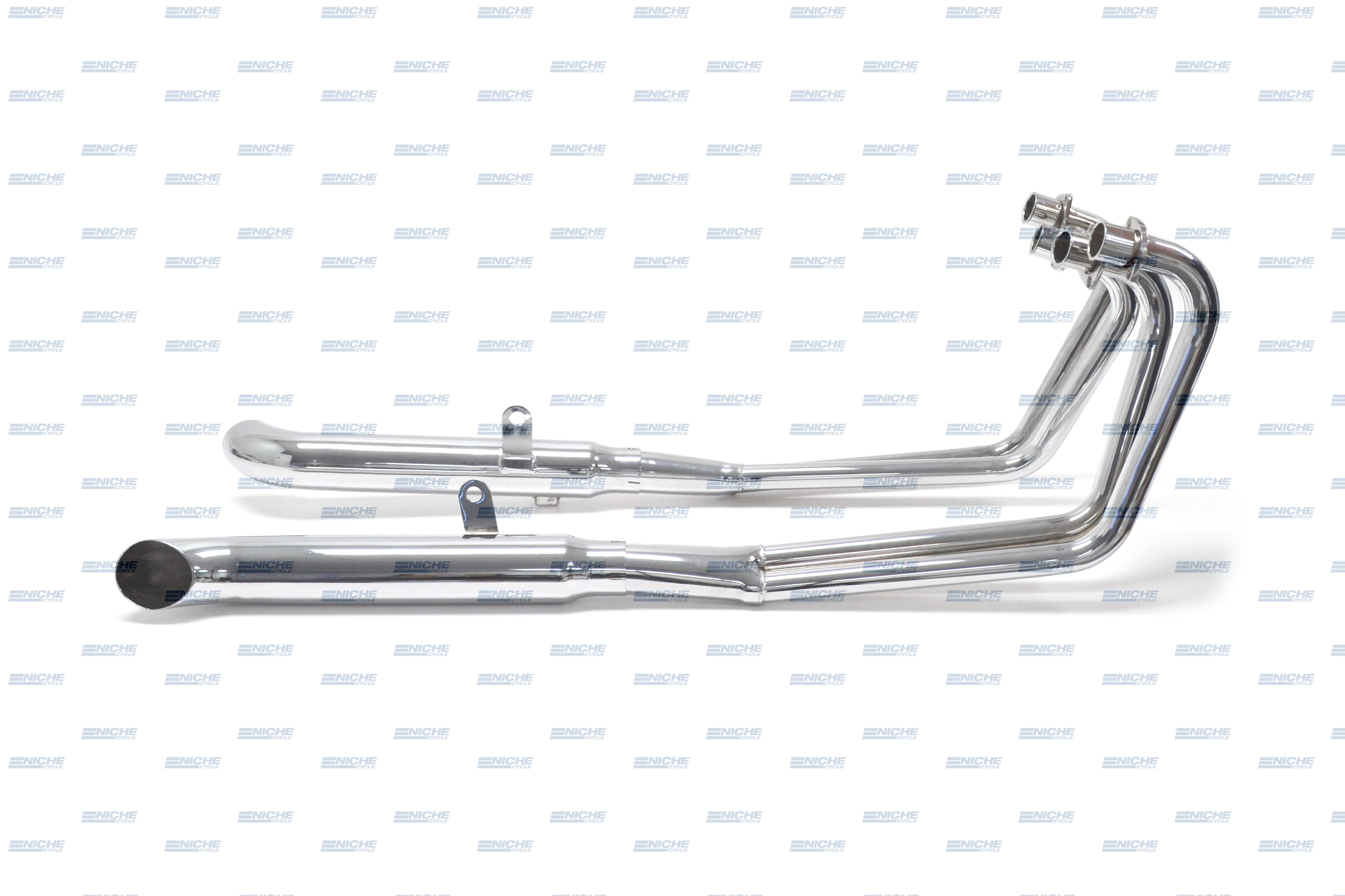 Suzuki GS650 81-83 4-Into-2 Chrome Turnout Exhaust System 003-0808