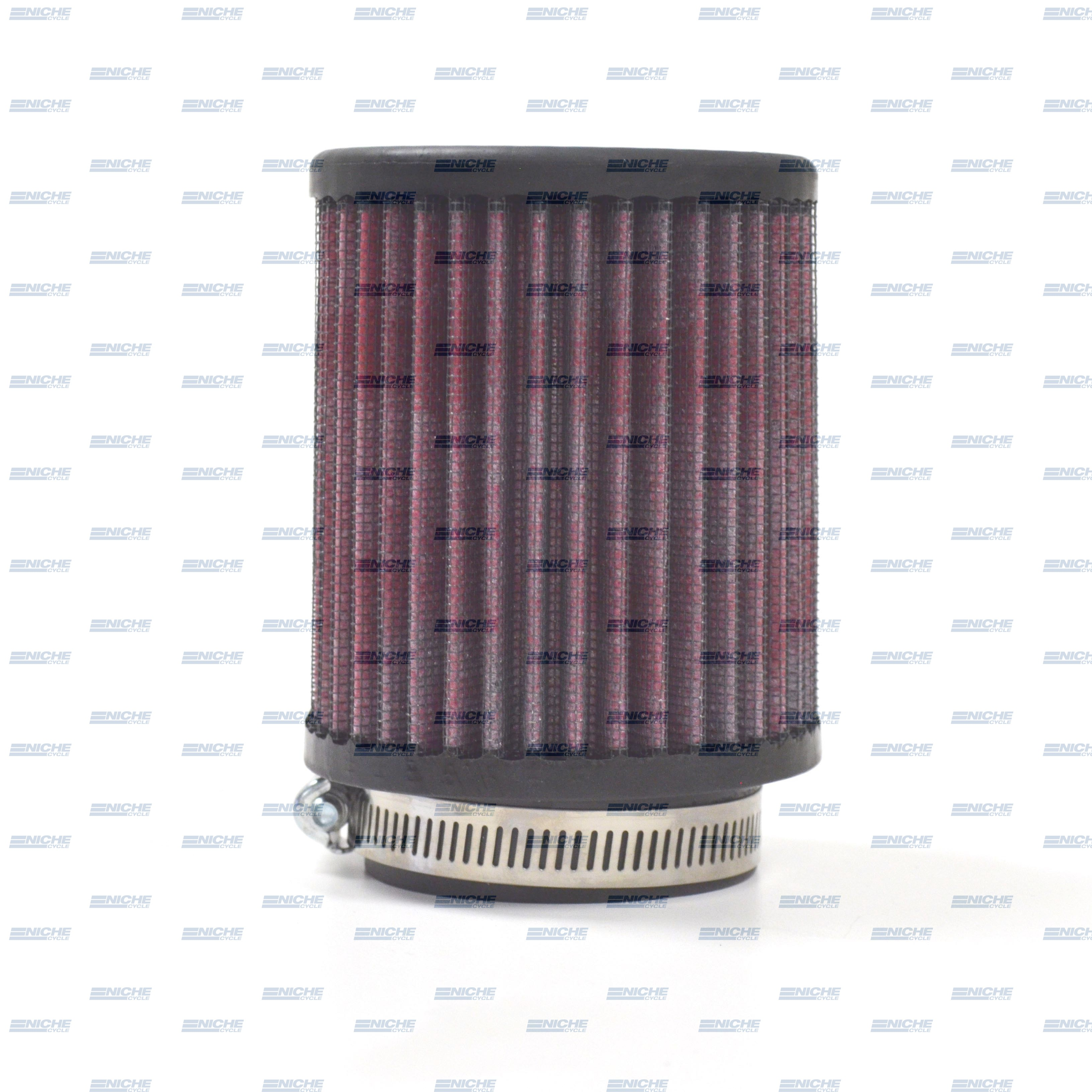 Round Straight Air Filter - 58mm Red JR-60-01