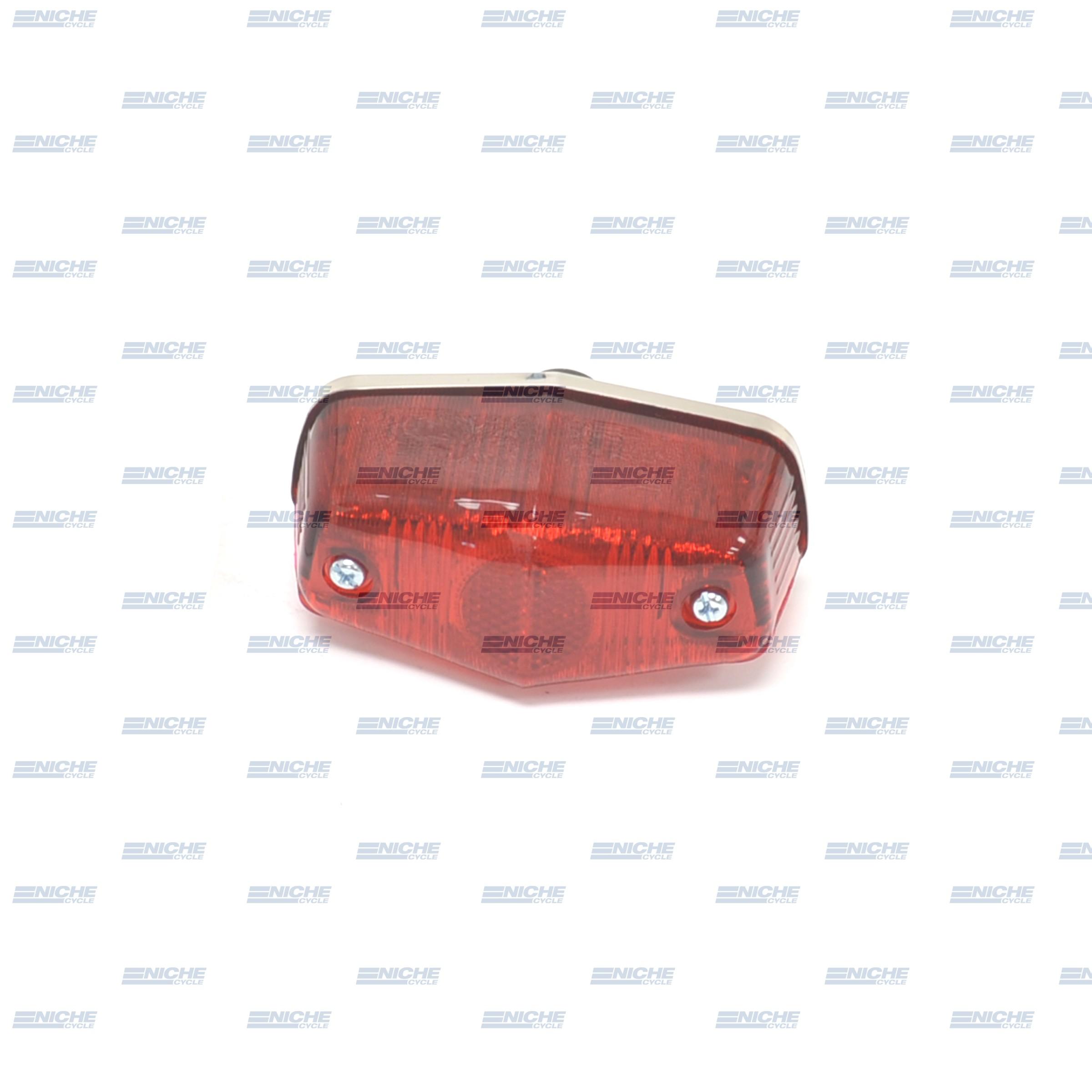 Triumph BSA Norton Classic Lucas-Style Small 6-Volt Chrome Taillight  62-21526