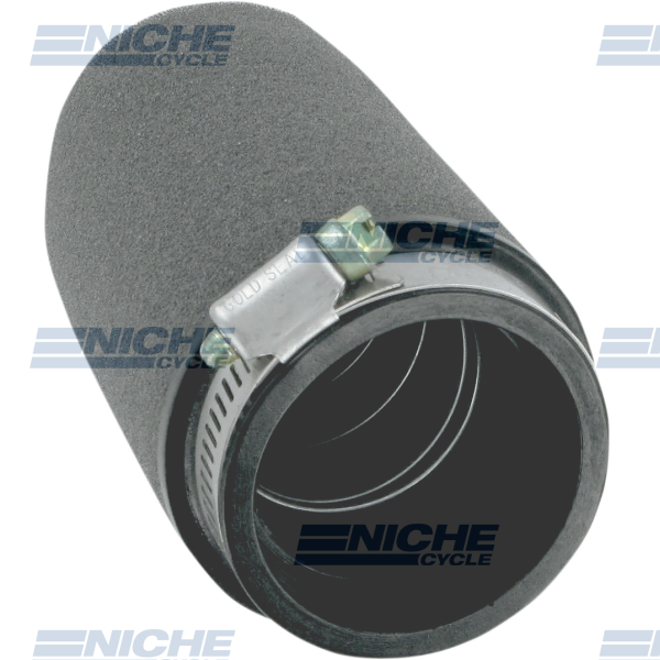 Uni-Filter Straight Black 2-1/2 x 6 UP-6245