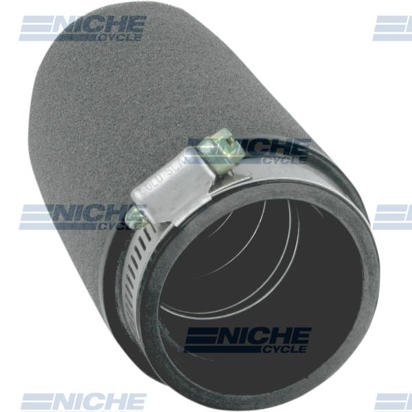Uni-Filter Straight Black 2-1/2 x 5 UP-5245