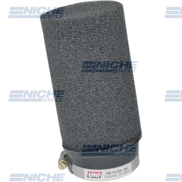 Uni-Filter Angled Black 2-1/2 x 6 SNOW UP-6245SA