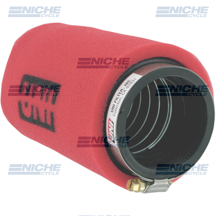 Uni-Filter Angled 2-Stage Red 2-1/2 x 6 UP-6245ST