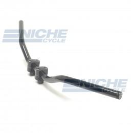 "Handlebar - 1"" Superbike Gloss Black -Dimpled 07-12526B"