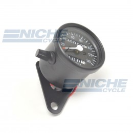 Mini Speedo 2:1 Trip/Bracket Black 58-43666B