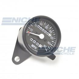 Mini Speedometer Gauge 160 MPH - 2.1:1 Ratio 58-43664B