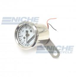Micro Speedo 2.1 ODO White 0-140 48mm 58-43689