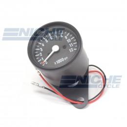 Mini Tach 1:7 w/Bracket Black 58-43692B