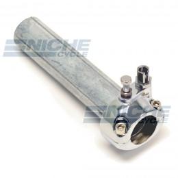 "1"" Single Pull Chrome Throttle Assembly 44-29472"