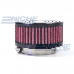 Round Straight Offset Air Filter - 62mm JR-591-01
