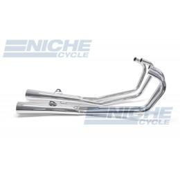 Honda CB750 K/C 79-82 MAC 4-Into-2 Chrome Megaphone Exhaust System 001-1609