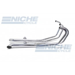 Honda CB750 K/C 79-82 4-Into-2 Chrome Turnout Exhaust System 001-1608