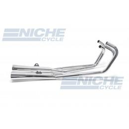 Honda CB900 CB1000 MAC 4-Into-2 Chrome Megaphone Exhaust System 001-3109