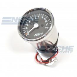 Mini Tachometer Gauge 12k RPM - 1:7 Ratio 58-43692