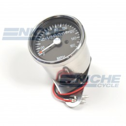 Mini Speedometer Gauge 160 MPH  58-43680