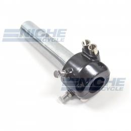 "7/8"" Dual Pull Black Throttle Assembly 44-29474B"