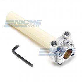 Honda Style Push/Pull Throttle Assembly - Polished