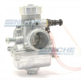 Mikuni 24mm Yamaha TTR125 PreJetted Carburetor w/Silver Billet Cap