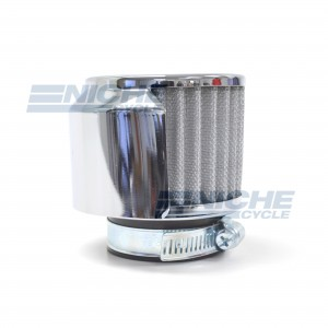 Air filter Pod w/Chrome Half Cover - 45mm 12-55780