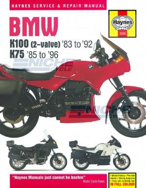 BMW K100 & 75 2-valve Models (83 - 96) M1373