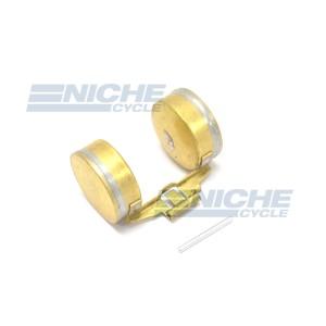 Honda OE Style Brass Carburetor Float w/Pin 16013-116-700 16013-116-700