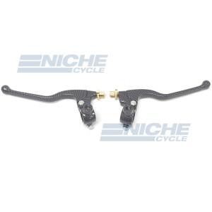 Universal Clutch & Brake Lever Set w/Mirror Mount 32-30180