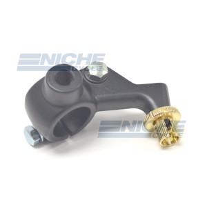 Honda Type One Piece Clutch Lever Bracket - Black 34-30132