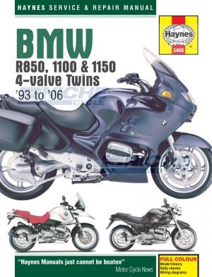 BMW R850, 1100 & 1150 4-valve Twins M3466