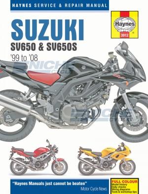 Suzuki SV650 & SV650S (99 - 08) M3912