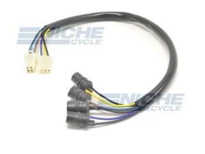 Yamaha XT500 SR500 Tachometer Replica Wiring Loom 3H1-83520-00-00 3BH-83520-00