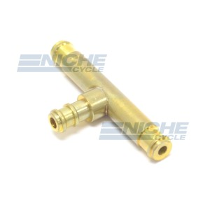 Mikuni BS34 Carburetor Brass T Fitting 48-0884