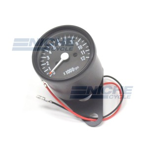 Mini Tach 1:7 w/Bracket Black 58-43692B